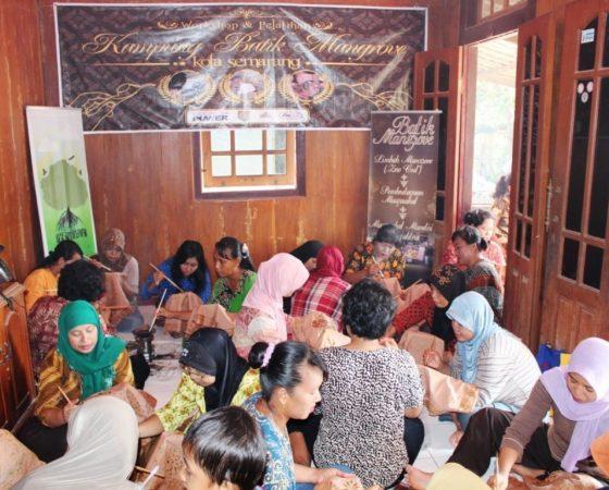 Ngebruk Mangrove Center, Pusat Kuliner dan Batik Mangrove Semarang