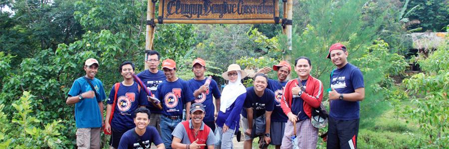 Pengelola Maroon MEP Studi Banding ke Clungup Mangrove Conservation Malang