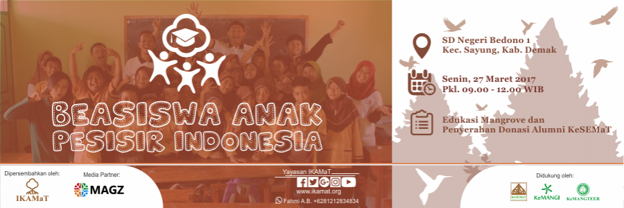 Press Release Beasiswa Anak Pesisir Indonesia 2017