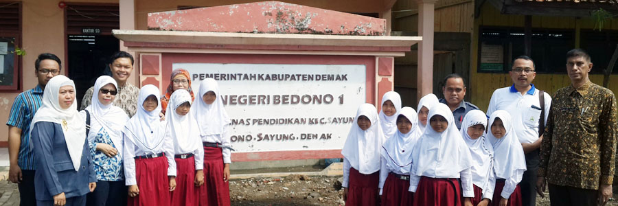 IKAMaT Dampingi Kunjungan Program Mangrove Sister School SEAMEO Indonesia – Thailand