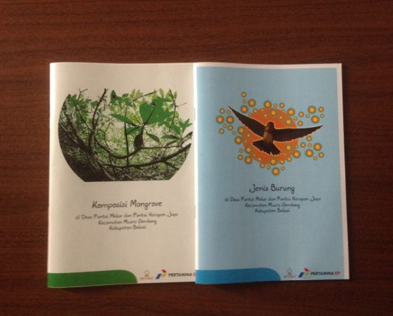 IKAMaT dan Pertamina Luncurkan Dua Buku Mangrove
