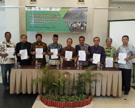 Kerja Sama Sister School, Dirut IKAMaT Tanda Tangan MoU dengan SEAMEO Thailand