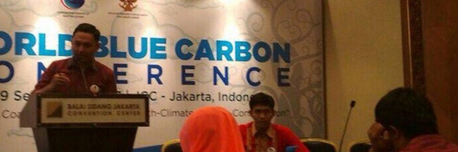 IKAMaT Pembicara World Blue Carbon Conference di JCC, Jakarta