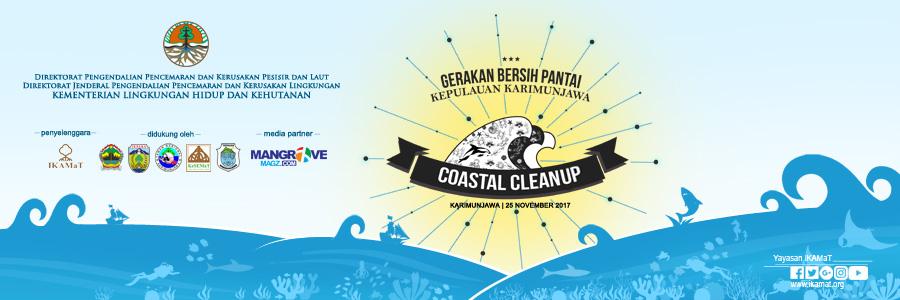 Press Release Coastal Cleanup 2017: Gerakan Bersih Pantai Kepulauan Karimunjawa