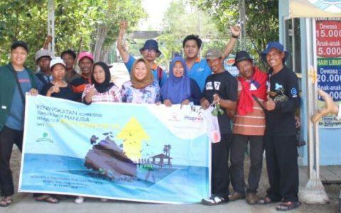 Pengelola Maroon MEP Studi Banding ke Pantai Lestari Karangsong dan Hutan Mangrove Pandansari